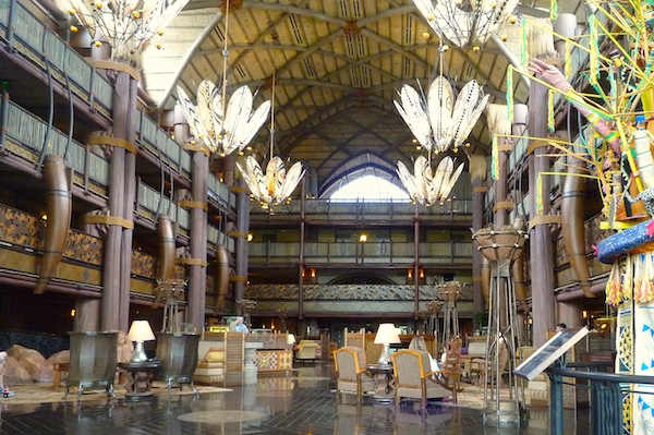 Disney's Animal Kingdom Lodge lobby image