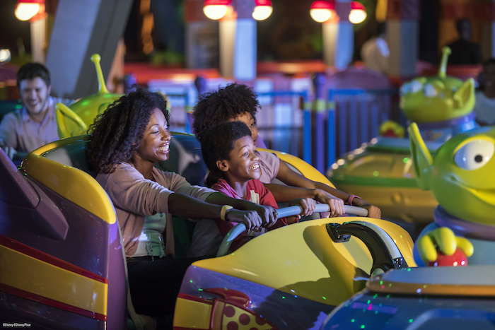 Disney's Toy Story Land Alien Swirling Saucers image