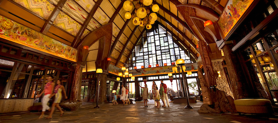 Aulani, A Disney Resort lobby image