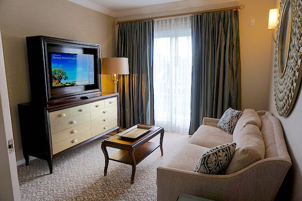 Disney's Beach Club Resort Presidential Newport Suite guest sitting room image