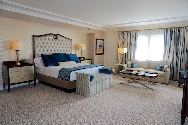 Disney's Beach Club Resort Presidential Newport Suite master bedroom image