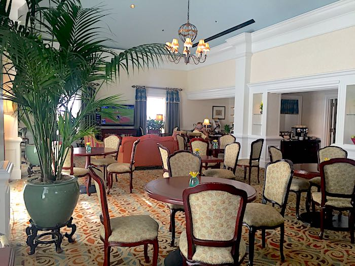 Disney's Boardwalk Inn concierge lounge image