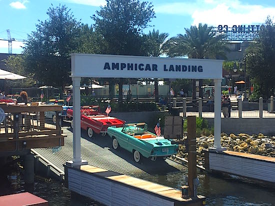 Disney Springs The Boathouse Restaurant amphibicar image