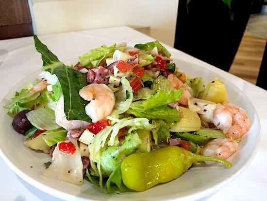 Disney Springs The Boathouse Restaurant chopped salad image