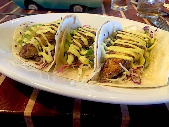 Disney Springs The Boathouse Restaurant fish taco image