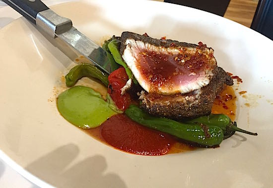 Disney Springs The Boathouse Restaurant ahi tuna image