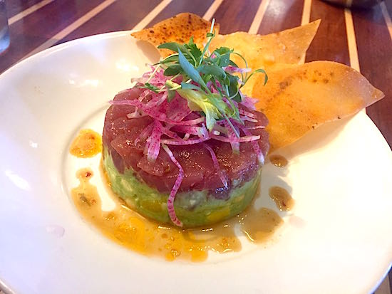 Disney Springs The Boathouse Restaurant tuna poke image