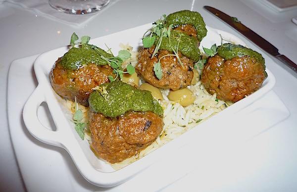 California Grill meatballs image