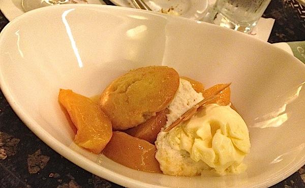 California Grill Peaches and Cream