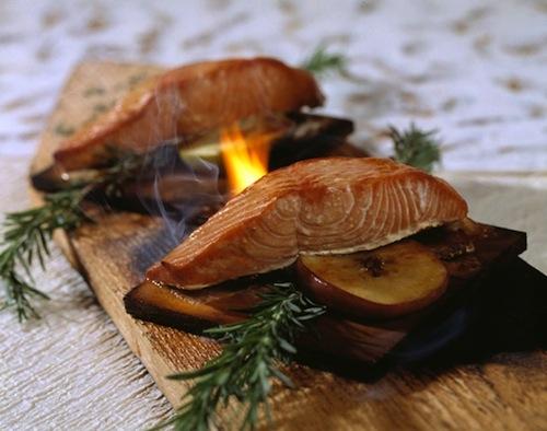 Artist Point Cedar Plank Salmon