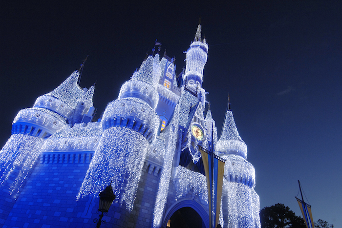 Cinderella Castle Lights image