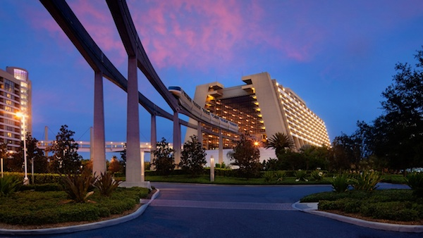 Disney's Contemporary Resort and monorail image