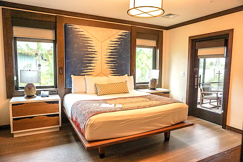 Copper Creek Cabin at Disney's Wilderness Lodge master bedroom image