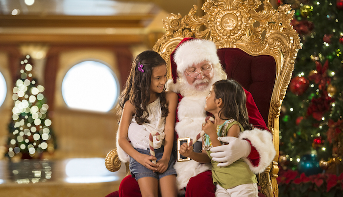 Disney Cruise Line Santa image