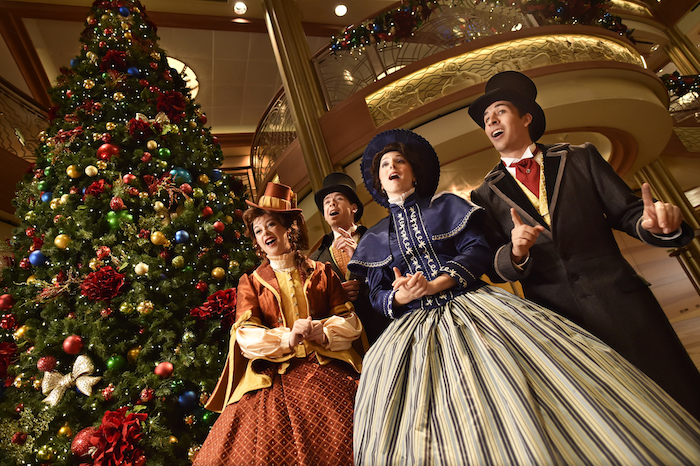 Disney Cruise Line carolers image