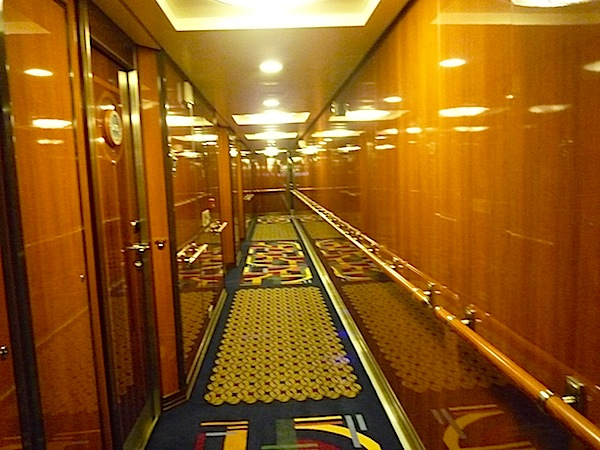 Disney Dream and Fantasy concierge hallways image