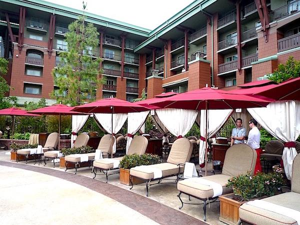 Disney's Grand Californian Hotel pool cabana image