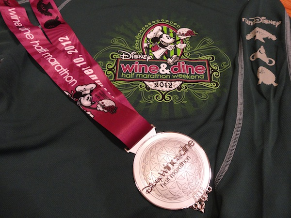 Wine and Dine Marathon Medal