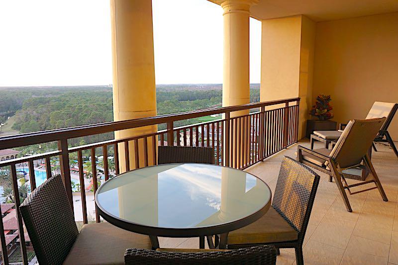 Four Seasons Orlando Grand Suite balcony image