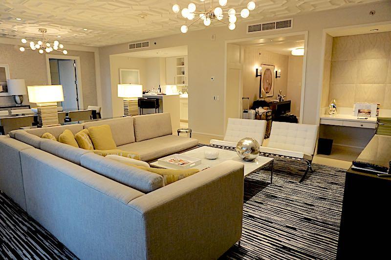 Four Seasons Orlando Grand Suite living room