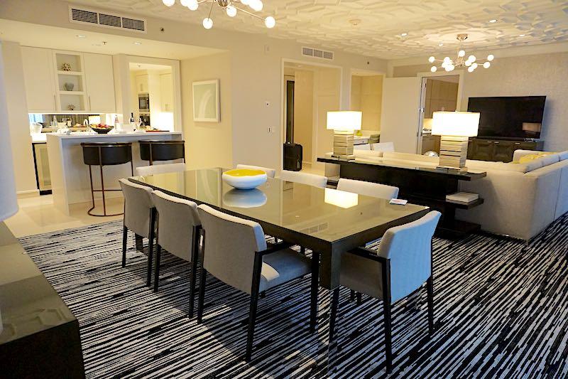 Four Seasons Orlando Grand Suite dining room image