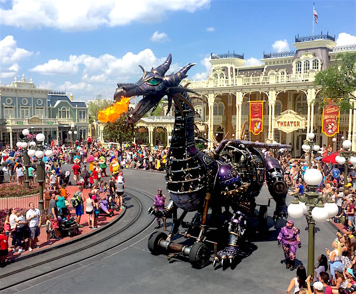 Festival of Fantasy Parade dragon image