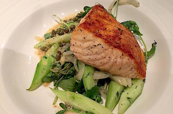Disney's Flying Fish Cafe salmon