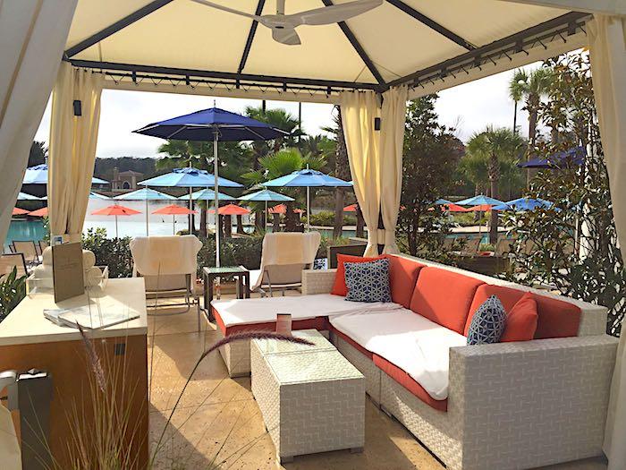 Four Seasons Orlando pool cabana image