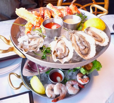 Fulton's Crab House Downtown Disney seafood tower image
