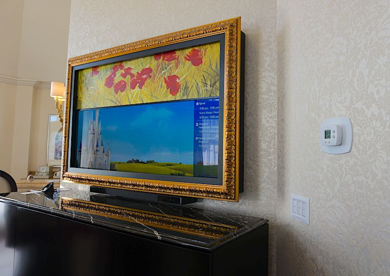 Grand Floridian Grand Suite TV image