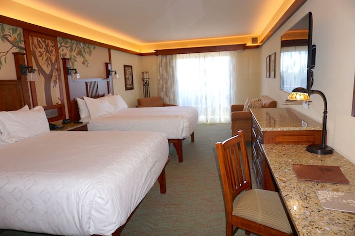 Disney Grand Californian Hotel guest room image