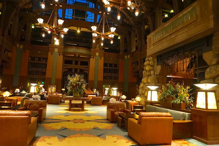 Disney Grand Californian Hotel lobby image