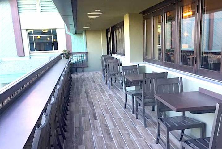 Disney's Grand Californian Hotel conicerge lounge veranda image