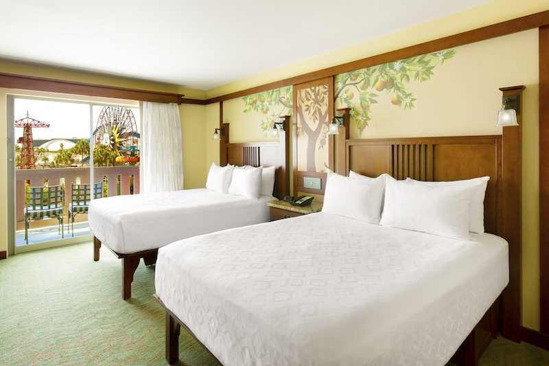 Disney's Grand Californian Hotel renovated guest rooms image