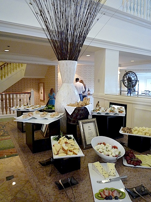 Disney S Grand Floridian Resort Concierge Club Lounge Food Image