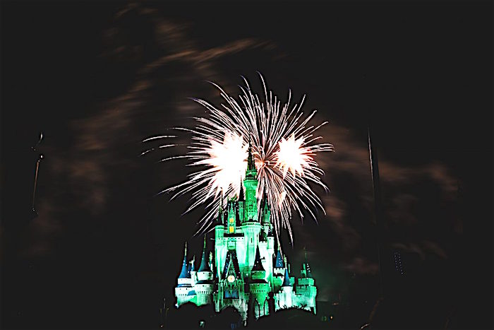 Magic Kingdom fireworks image