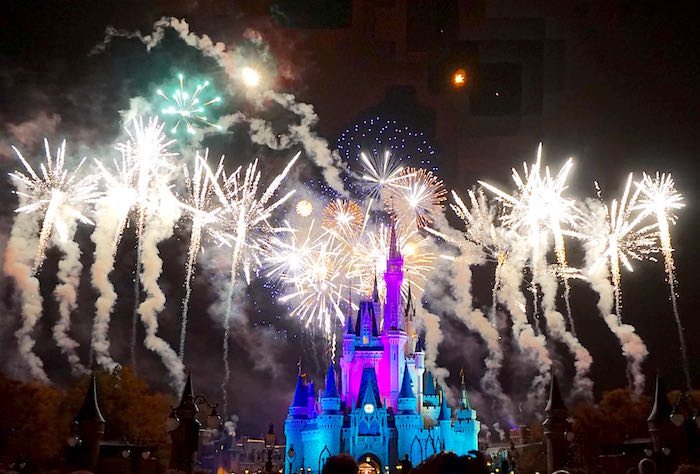 Magic Kingdom fireworks image