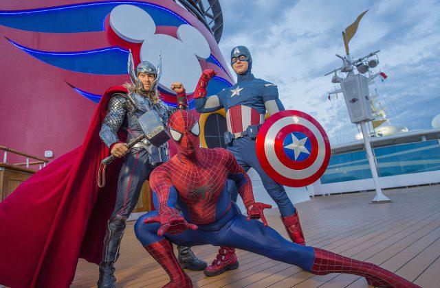 Marvel Day at Sea Disney Magic image