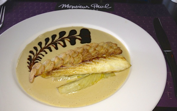 Monseuir Paul restaurant Epcot fish entree image