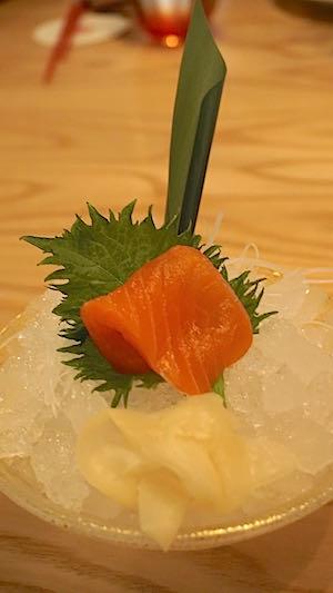 Morimoto Disney Springs sashimi image