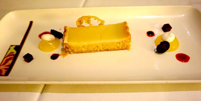 Palo limoncello tart image
