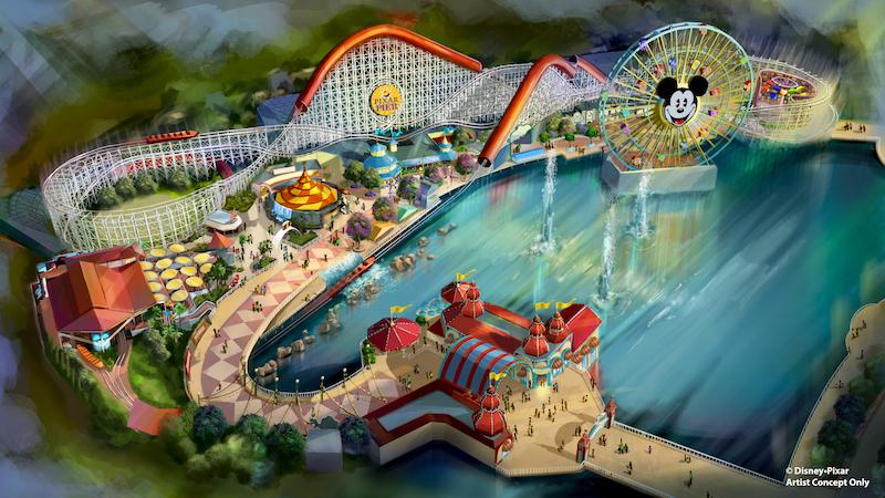 Disneyland Resort Pixar Pier image
