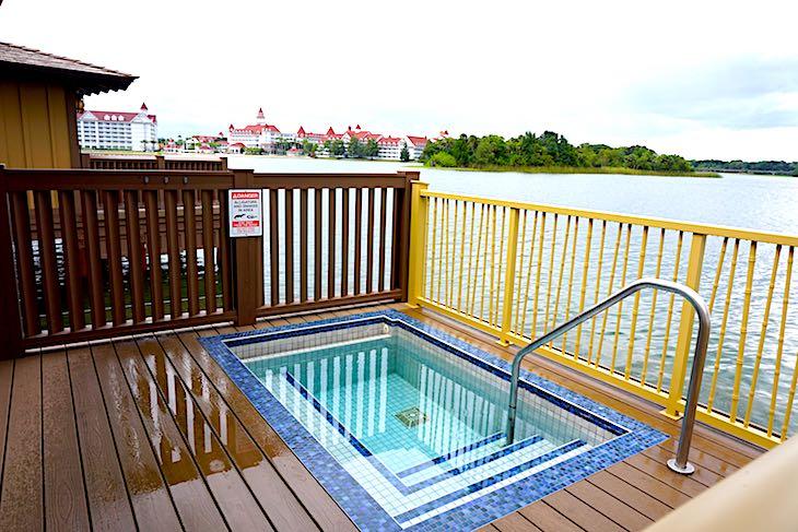 Disney's Polynesian Villas bungalows deck image