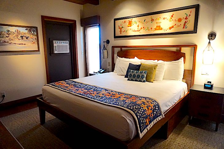 Disney's Polynesian Villas bungalow master bedroom image