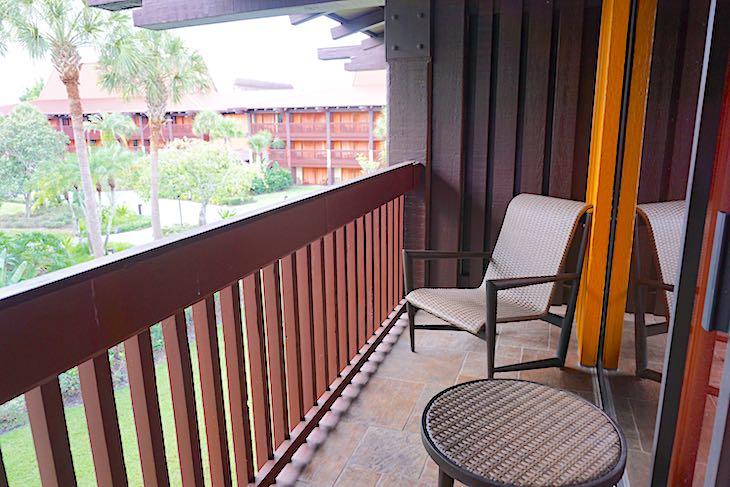 Disney's Polynesian Villas Studio balcony image