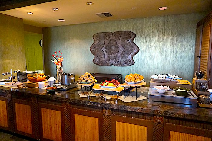 Disney's Polynesian Village Concierge Lounge breakfast image