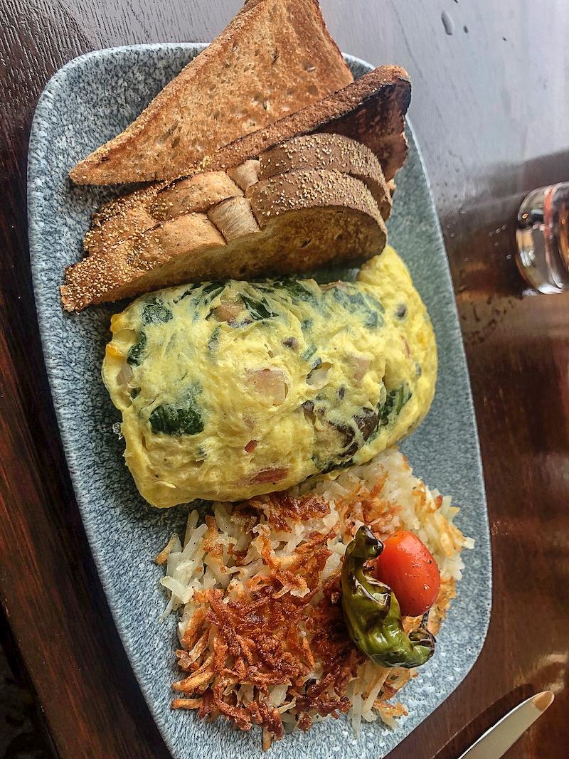 Ritz Carlton Laguna Niguel Raya omelet image