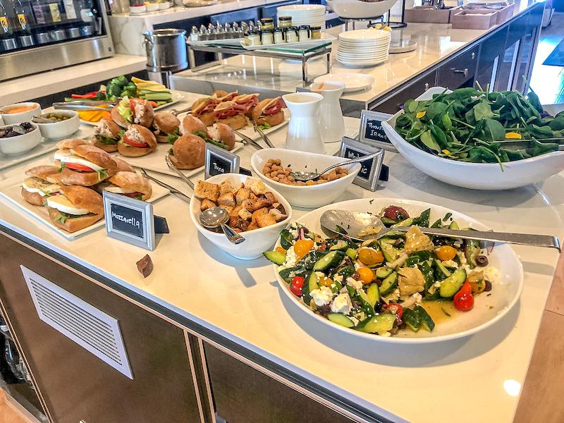 Ritz Carlton Laguna Niguel concierge club food image