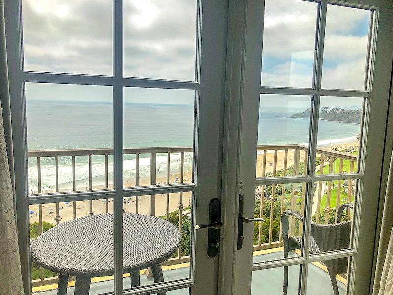 Ritz Carlton Laguna Niguel ocean guest room balcony image