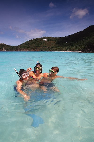 Diseny Cruise Line shore excursions snorkeling image